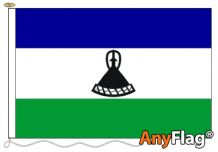 - LESOTHO NEW ANYFLAG RANGE - VARIOUS SIZES